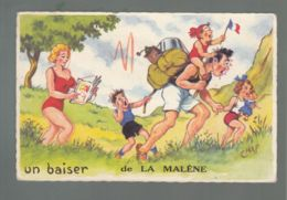 CP (48) Un Baiser De La Malène  -  Illustrateur Chaperon - Other Municipalities