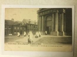 AALST 1903   SOUVENIR D' ALOST  N° 19 LE BEGUINAGE  ( LE RETOUR DE L' OFFICE )  GEANIMEERD - Aalst