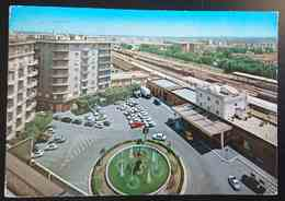 BARLETTA - PIAZZA CONTEDUCA E STAZIONE - Train Station   Vg - Barletta