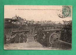 Militaria 50 Manche Environs De Cherbourg Vue De Querqueville  Tirs D ' Artillerie Au Polygone - France