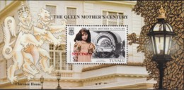 Tuvalu 1999 The Queen Mother's Century SPECIMEN Minisheet MNH - Tuvalu