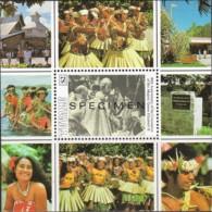 Tuvalu 1993 Coronation Queen Elizabeth 40th Anniversary SPECIMEN Minisheet MNH - Tuvalu