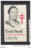 USA, MNG, Emily Bissell, Femme, Woman, Tuberculose, Tubertucolis - Médecine