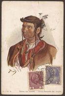 AUSTRIA / CZECH / PORTUGAL.1913. POSTCARD TESTCHEN TO LISBON. COMBINATION 2 + 3h. TETSCHEN CANCEL & LISBON ARRIVAL ON RE - 1850-1918 Empire