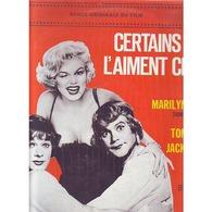 MARILYN  MONROE ° CERTAINS L'AIMENT CHAUD - Soundtracks, Film Music