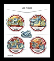 Guinea 2019 Mih. 13714/17 Motorcycles MNH ** - Guinea (1958-...)