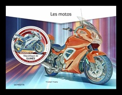 Guinea 2019 Mih. 13718 (Bl.2375) Motorcycles MNH ** - Guinea (1958-...)