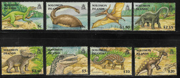 Solomon Islands SG1194-1201 2006 Dinosaurs Set 8v Complete Unmounted Mint [40/32578/2D] - Solomon Islands (1978-...)