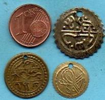 R13/ Lot 3 MONNAIES ? JETONS ? MEDAILLES ? A IDENTIFIER - Monnaies & Billets