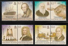 Solomon Islands SG1171-1178 2006 Exploration And Innovation Set 8v Complete Unmounted Mint [40/32579/2D] - Solomon Islands (1978-...)