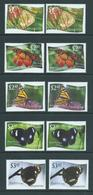 Tonga Niuafo'ou 2012 Butterfly Normal Set Of 12 + The 9 Values With Missing Or Mis-coloured L Varieties MNH - Tonga (1970-...)