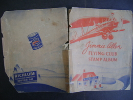 UNITED STATES - RARE, SMALL AND ANCIENT OF AVIATION FIGURES IN THE STATE - Bücher, Zeitschriften, Comics