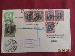 Lettre De 1930 à Destination De Langnau En Recommandé - Chili