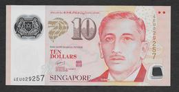Singapore 10 Dollars Polymer 2016 UNC - Singapore