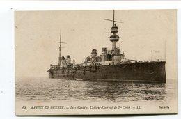 CPA  Bateau : Le CONDE    Croiseur Cuirassé    A  VOIR  !!!!!!! - Warships
