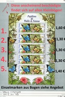 Wallis & Futuna - Michel 641-642 Im Kleinbogen Komplett / MF Compl. -  ** Mnh Neuf Postfris - - Wallis Und Futuna