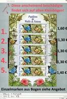 Wallis & Futuna - Michel 641-642 Im Kleinbogen Komplett / MF Compl. -  ** Mnh Neuf Postfris - - Nuovi