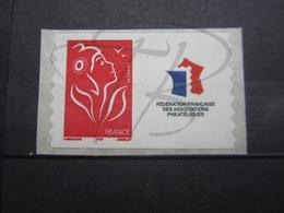 VEND BEAU TIMBRE DE FRANCE N° 3802Ad , AVEC VIGNETTE PERSONNALISEE , XX !!! (a) - France