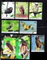 2861. Owls - Hiboux - 2019 - MMH - Cb - 3,95 - Owls