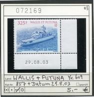 Wallis & Futuna - Michel 857 Mit Datum / Coin Daté -  ** Mnh Neuf Postfris - - Wallis Und Futuna