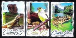 7476  Frogs - Songbirds - Lizards  - 2019 - MNH - Cb - 2,95 - Grenouilles