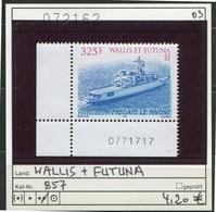 Wallis & Futuna - Michel 857 Mit BZ -  ** Mnh Neuf Postfris - - Wallis Und Futuna