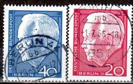 Berlin 1964 Mi. 234-235 Heinrich Lübke Gestempelt (br2218) - Berlin (West)