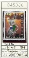 Wallis & Futuna - Michel 868 -  ** Mnh Neuf Postfris - Badminton - Wallis Und Futuna
