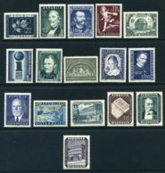 Aus Mi. 969-993 Falz (Mi.-Wert ** 175 Euro) - 1945-60 Ungebraucht