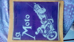 Revue La Moto 1931 - Books, Magazines, Comics