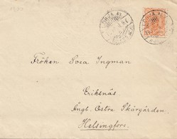 Finnland: 1900: Lohja Nach Helsinki - Finland