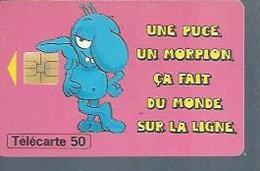 TELECARTE 50 UNITES - MORPION - 01 / 1996 - SO3 - France