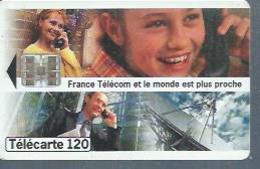TELECARTE 120 UNITES - LE MONDE.... - 01 / 1996 - SC7 - France