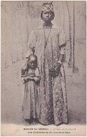 MISSION DU SENEGAL. Une Chrétienne De St-Louis Et Sa Soeur - Sénégal