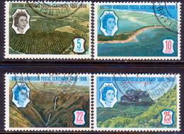 British Honduras 1966 SG #235-38 Compl.set Used Stamp Centenary - British Honduras (...-1970)