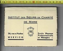 GROEP 227 - WERVIK -  INSTITUT DES SOEURS DE CHARITE  DE MARIE WERVICQ 30 CARTE POSTAL - Wervik