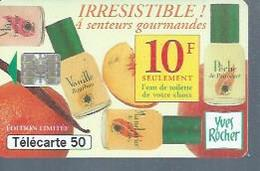 TELECARTE 50 UNITES - YVES ROCHER - 05 / 1996 - SC7 - France