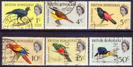British Honduras 1967 SG #239//45 Part.set(only 2c Missing) Used Wmk Mult.Crown Block CA 10c Has A Tiny Crease - British Honduras (...-1970)