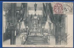 CALAIS     Nouveau Casino  Salle Des Petits Chevaux   Animée    écrite En 1904 - Calais