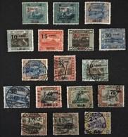 1921 Heimische Bilder Klein Format Mit Aufdruck  Mi.70*),70(*),71*),72*),73*),76*),,71,72,75,76,77,78,79,80a,80b,81, - 1920-35 Société Des Nations
