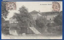 RONCEUX    Passerelle Sur Le Ruisseau De L'Abreuvoir        Animées    écrite En 1904 - Other Municipalities