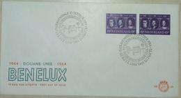 FDC Pays-Bas Union Douanière Benelux 1944 - 1964 / FDC Néderland  Douane Unie Benelux 1944-1964 - Police - Gendarmerie