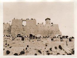 Remparts De Jérusalem Le Jour De La Fête Musulmane Du Hebo Lyoussa - Fotos