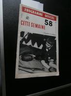 Expo 58 : Cette Semaine 11 (27/06/1958) : Congo, Changwe Yetu, Rik Poot, Ballet, - Testi Generali