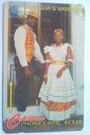 97CATA  National Dress EC$20 - Antigua En Barbuda