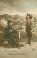 WW GUERRE SOLDATS MILITAIRES POILUS. Boy Scout Messager Du Foyer 1915 - Guerra 1914-18