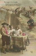 WW GUERRE SOLDATS MILITAIRES POILUS. Boy Scout Messager De La Famille 1915 - Guerra 1914-18