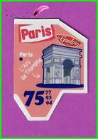 """Magnet LE GAULOIS Département Français Nouvelle Région """" 75 Paris """" Paris L'Arc De Triomphe - Magnets"""