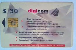Digicom  Zim $30 - Zimbabwe