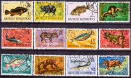 British Honduras 1968 SG #254-55 Compl.set Used Wildlife - British Honduras (...-1970)